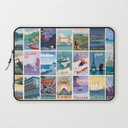 Travel the World Laptop Sleeve