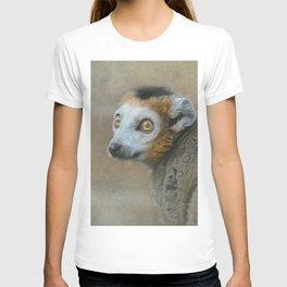 Golden Crowned Lemur T-shirt