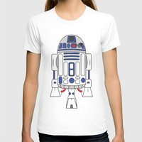 r2d2 T-shirts featuring R2D2 by Gyunjoo Kim