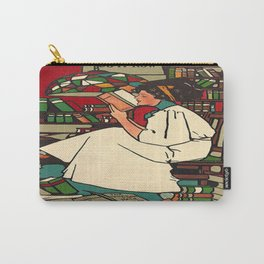 """""""Dig"""" Print by Sadie Wendell Mitchell Carry-All Pouch"""