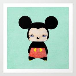 A Boy - Mickey Mouse Art Print