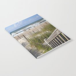 Peaceful Beach Scene Notebook