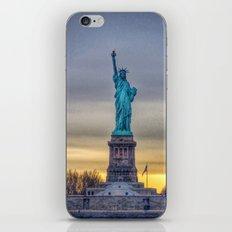 Lady Liberty iPhone & iPod Skin