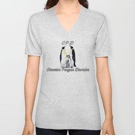 Obsessive Penguin Disorder 2 Unisex V-Neck