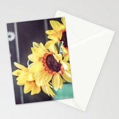 Sunflowers in my kitchen Stationery Cards