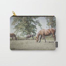Polo Ponies Carry-All Pouch