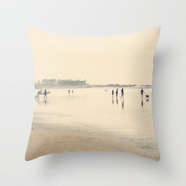 beach life II Throw Pillow