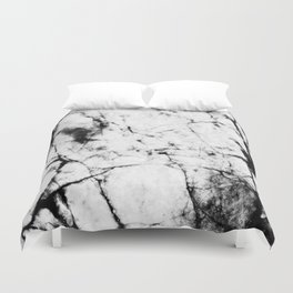 Marble Concrete Stone Texture Pattern Effect Dark Grain Duvet Cover
