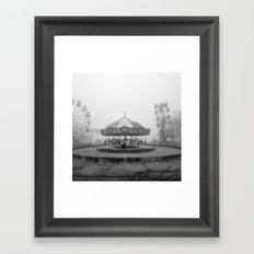 Silent Beach Park Framed Art Print