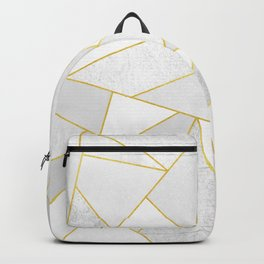 White Stone Backpack