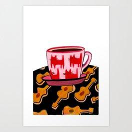 a cup of calmness .. Art Print