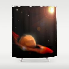 Space & Planet Shower Curtain