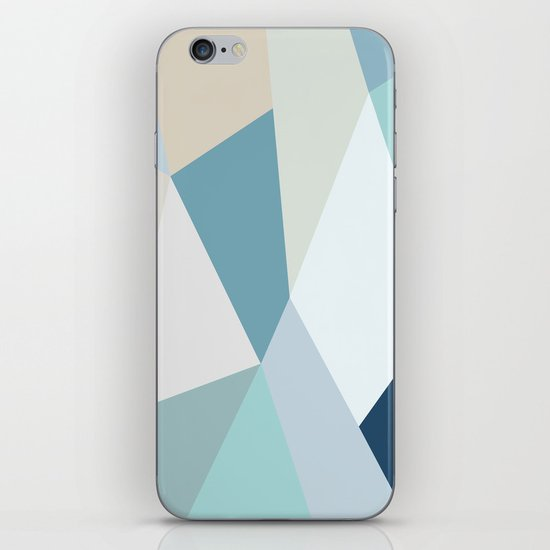 SPRING LOVE { BLUE } iPhone & iPod Skin