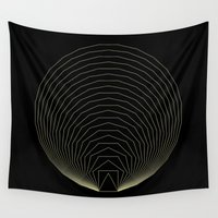 polygon Wall Tapestries featuring Polygon Family by Jeremy Wright