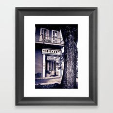 Saint Charles Grocery II Framed Art Print