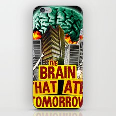The Brain That Ate Tomorrow iPhone & iPod Skin