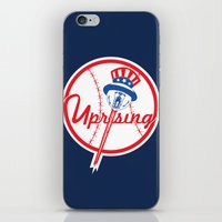 yankees iPhone & iPod Skins featuring the NY uprising by Jacekeller