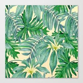 Palm Leaves Canvas Print