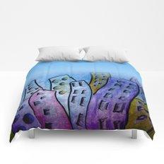 digicity blue curtain Comforters