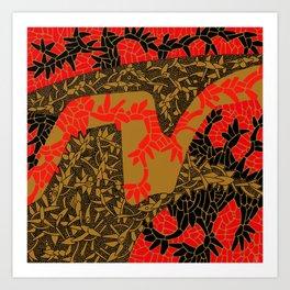 - fall in tokyo - Art Print