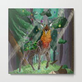 Lord of the Forest Metal Print