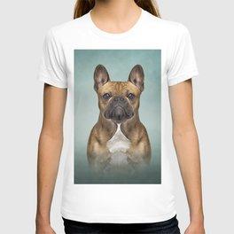 Drawing dog French Bulldog T-shirt