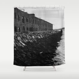 The Edge of Brooklyn Shower Curtain