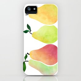 Fresh Pears iPhone Case