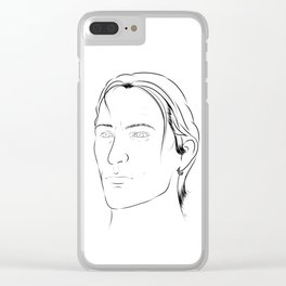 The Healer Clear iPhone Case