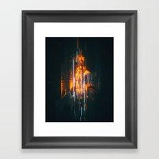 170107 / STRIKE Framed Art Print