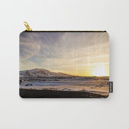 Snaefellsnes- Sunset Carry-All Pouch