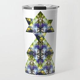 Symmetrical Triangle Creature Travel Mug