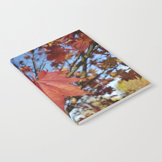 Maple leaf center stage Notebook
