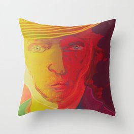 Dear Van Gogh / Stay Wild Collection Throw Pillow