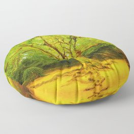 Golgotha Tree Floor Pillow