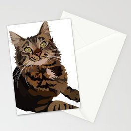 Maine Coon Stationery Cards