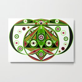 The third eye Metal Print