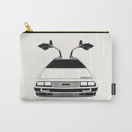 Delorean DMC 12 / Time machine / 1985 Carry-All Pouch