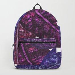 Tropical Leaves - Ultra Violet 1 Backpack