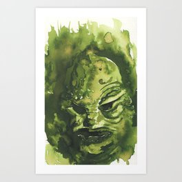 The Creature Art Print