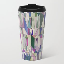 Architecture in Pink Travel Mug