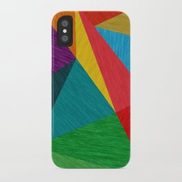 Poly Circle iPhone Case