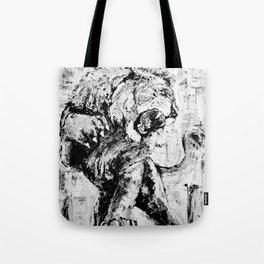"Carmine the Lion ""Silver Version"" Tote Bag"