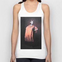 spanish Tank Tops featuring Spanish Goat by MollyK