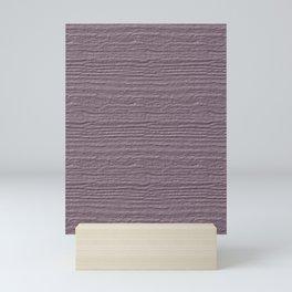 Sea Fog Wood Grain Color Accent Mini Art Print