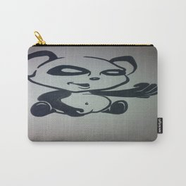 Panda With Attitude Carry-All Pouch
