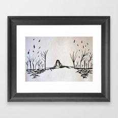 Tribute to Miguel Hernandez #3 Framed Art Print