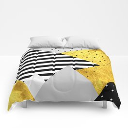 fall abstraction #4 Comforters