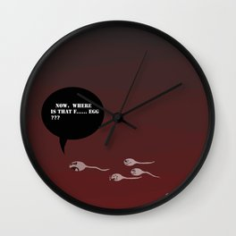 where is the egg? Wall Clock