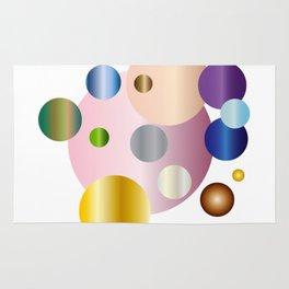 planetarium abstract geometrical design Rug